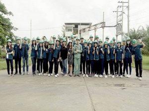 ศึกษาดูงานการกำจัดกากอุตสาหกรรม ณ Genco (ศูนย์บริการกำจัดกากอุตสาหกรรม แสมดำ)
